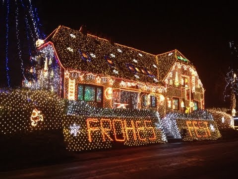 Weihnachtshaus in Calle