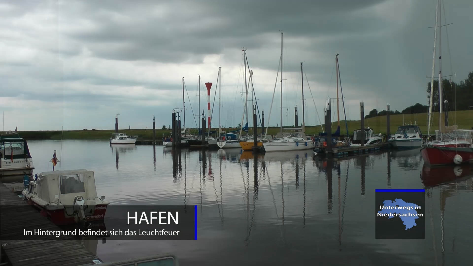 Hafen an der Elbe